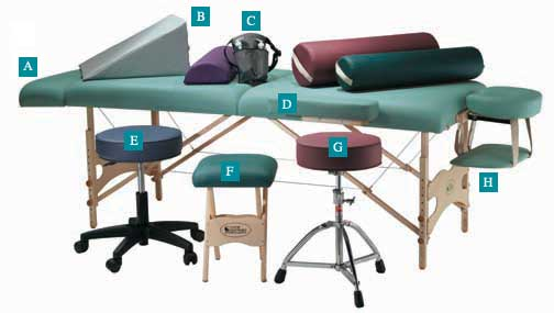 Massage Tables Accessories & More